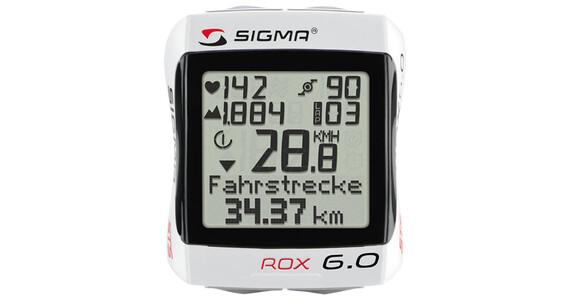 SIGMA SPORT Rox 6.0 Fahrradcomputer weiß